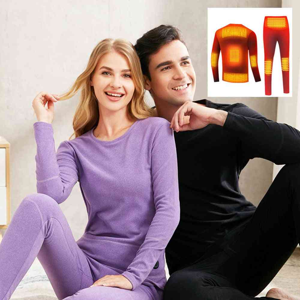 Heating Underwear Set Electric Heating Clothes & Trouser