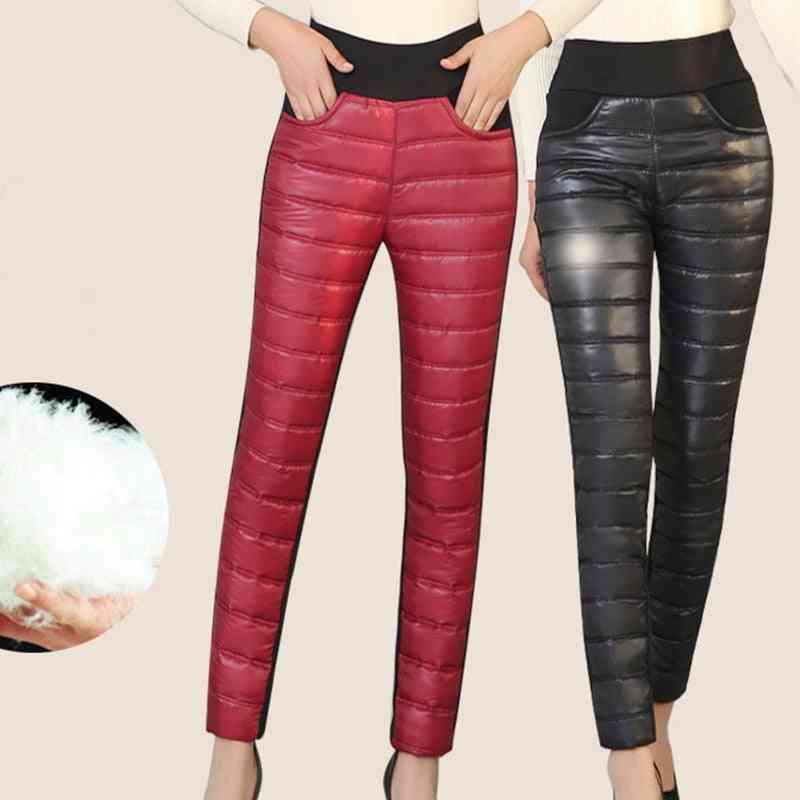 Down Cotton Warm Plus Velvet Pant