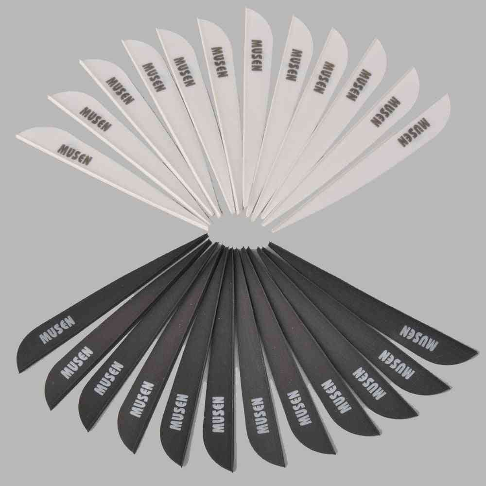 Plastic Feather Plume For Carbon Arrow Archery Outdoor Shooting