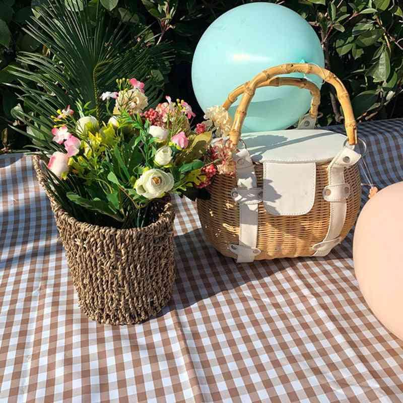 Picnic Mat, Outdoor Camping Waterproof Ground Mats, Mattress Plaid Blanket