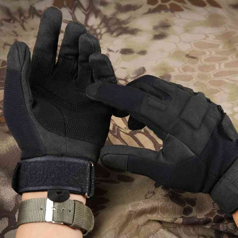 Tactical Army Combat Training Full Finger Gloves