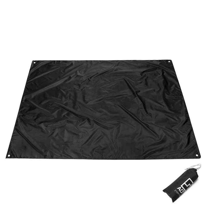 Outdoor Camping Mat Pad, Rainproof, Double Sided, Picnic Tent, Blanket Foldable, Oxford Beach Ground Sheet Tarp Mats