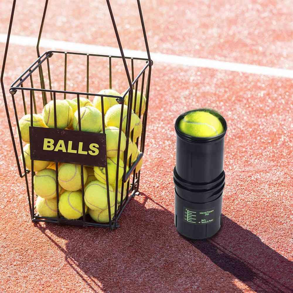 Pressurized Tennis Ball Storage Repair Tank