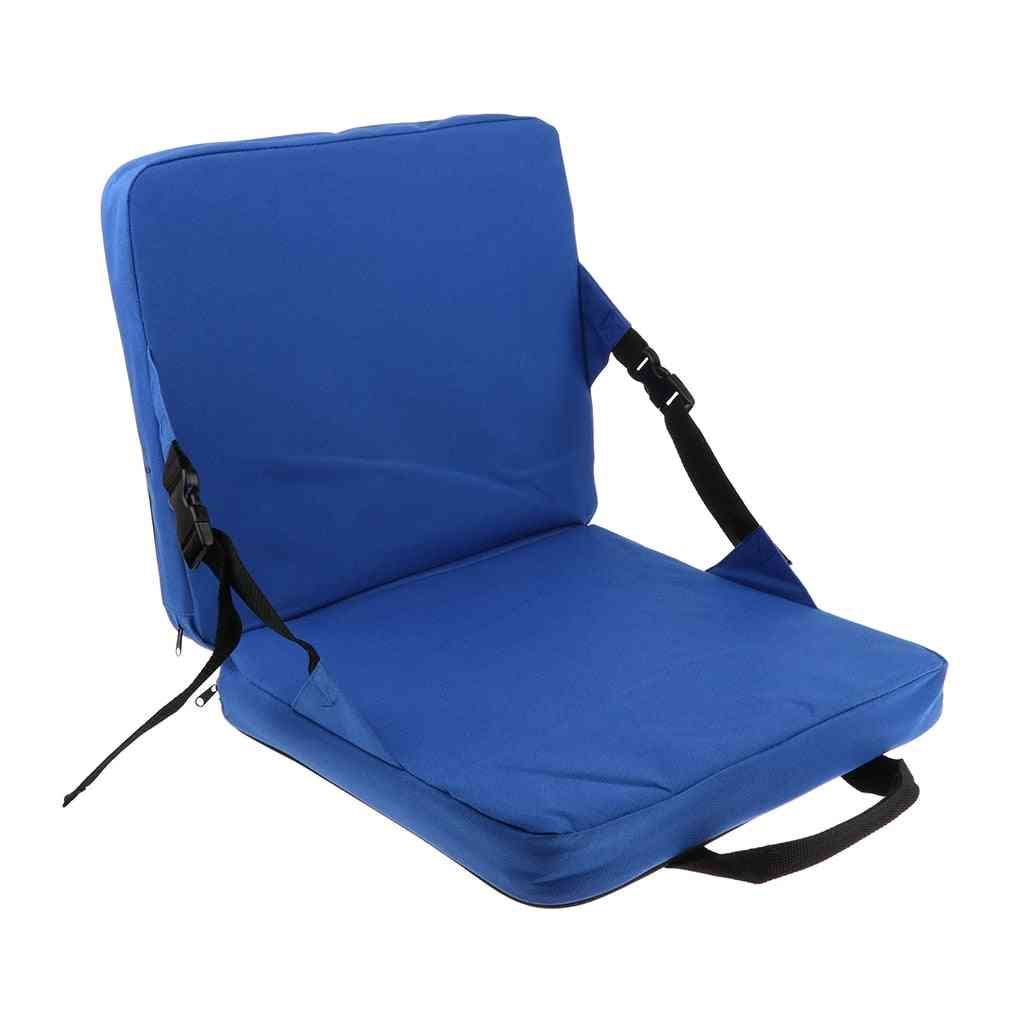 Comfortable Folding Stadium Seat, Outdoor Padded Cushion For Home, Garden
