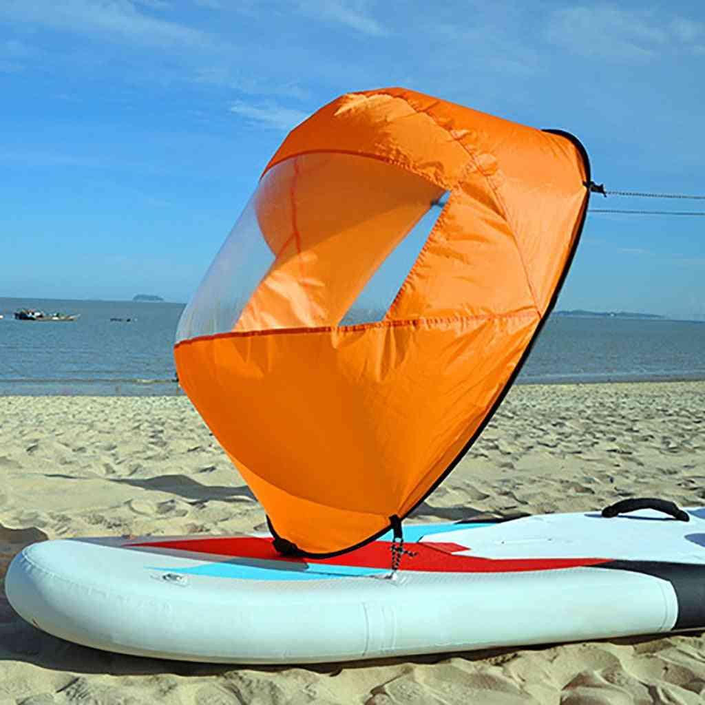 Orange Foldable Kayak Downwind Kit