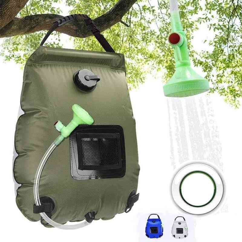 Water Bags 20l Outdoor Camping Hiking Solar Shower Bag