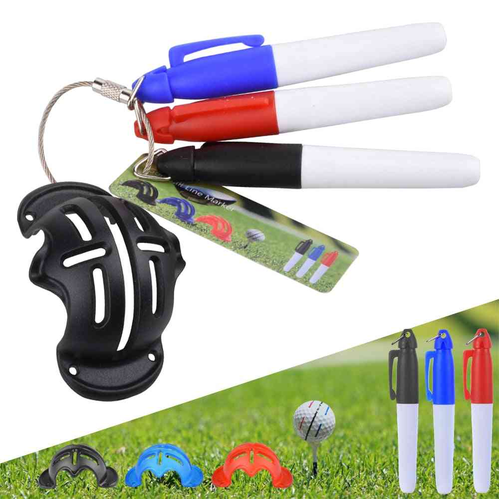 Golf Ball Triple Track 3 Line Marker