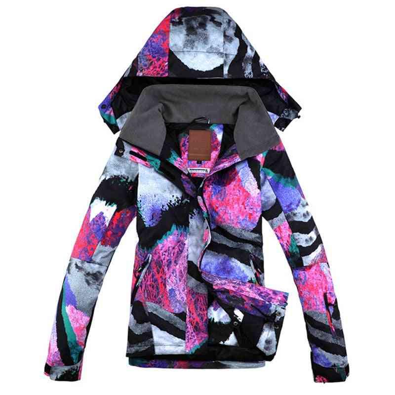 Female Ski Jacket And Pants Set  For Snow