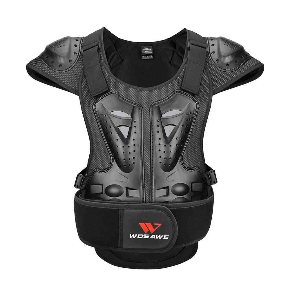 Adult Eva Pe Protective Armor Chest Back Shoulder Spine Protective Gear Skiing Skating Racing Skateboard Motorcycle Safety Vest