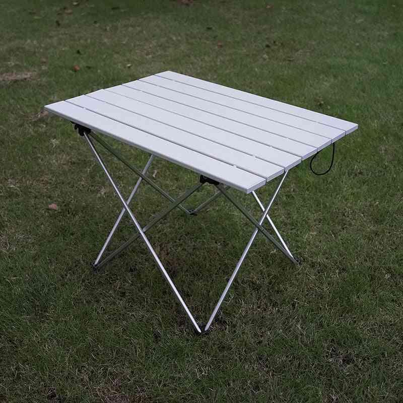 Aluminum Alloy- Ultralight Folding, Camping Table, Foldable Outdoor, Dinner Desk