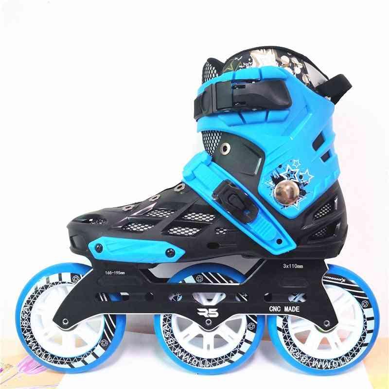 3 Wheels 110mm Inline Skates Base, Patines Roller Skating Sneaker