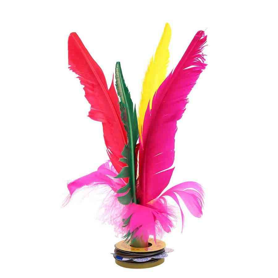 Outdoor Athletic Games Feather Kicking Shuttlecock