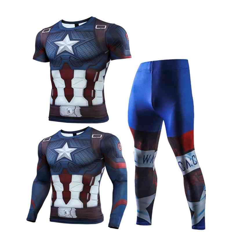 Men's Sport, Running Sets High-quality Joggers, Training, Gym, Fitness Tracksuits