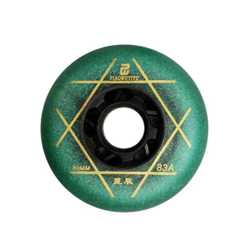 83a Durable Pu Fsk Slalom Wheel For Inline Skates Shoes