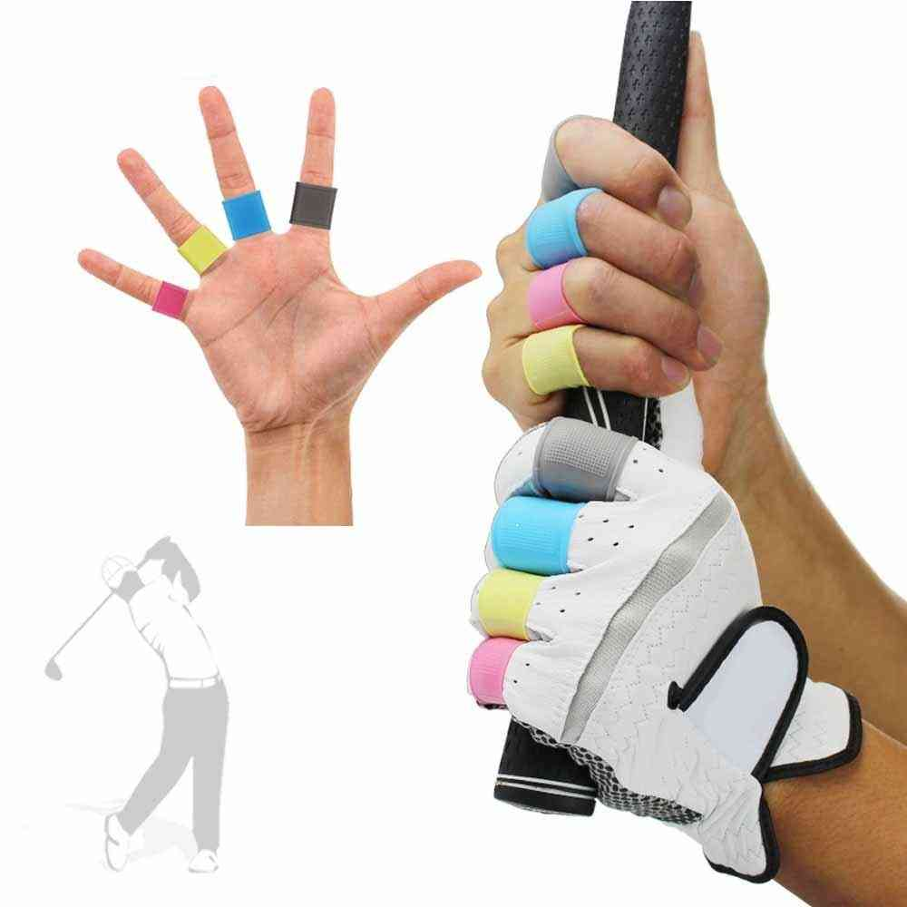 Golf Finger Silicone Support Sleeve Protective Cover Safety And Protection