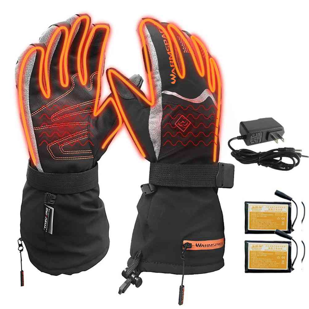 Heated Battery Powered With Temperature Control Gloves