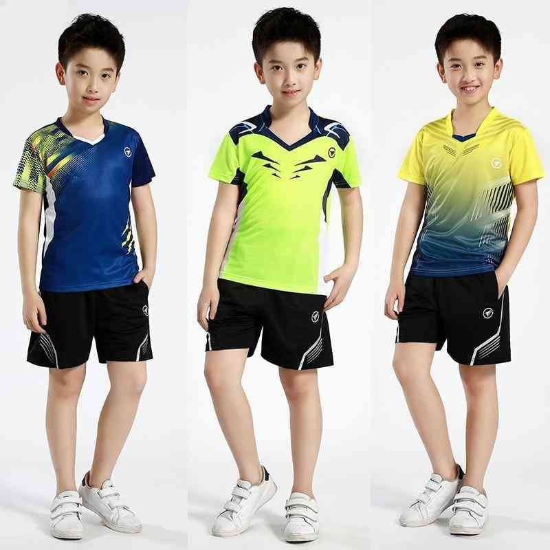 New Sports Sets, Badminton Clothes Kids, Table Tennis Sets
