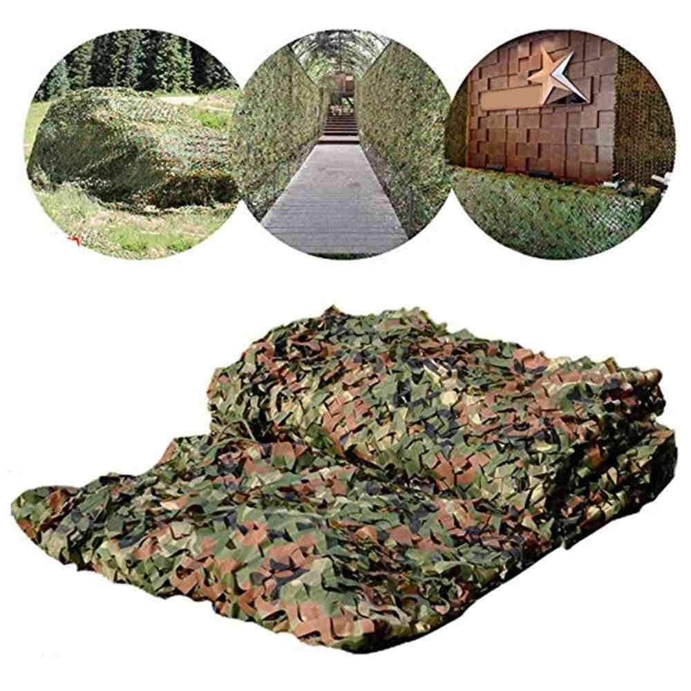 Hunting Nets- Army Training Netting, Car Covers, Tent Shade, Sun Shelter