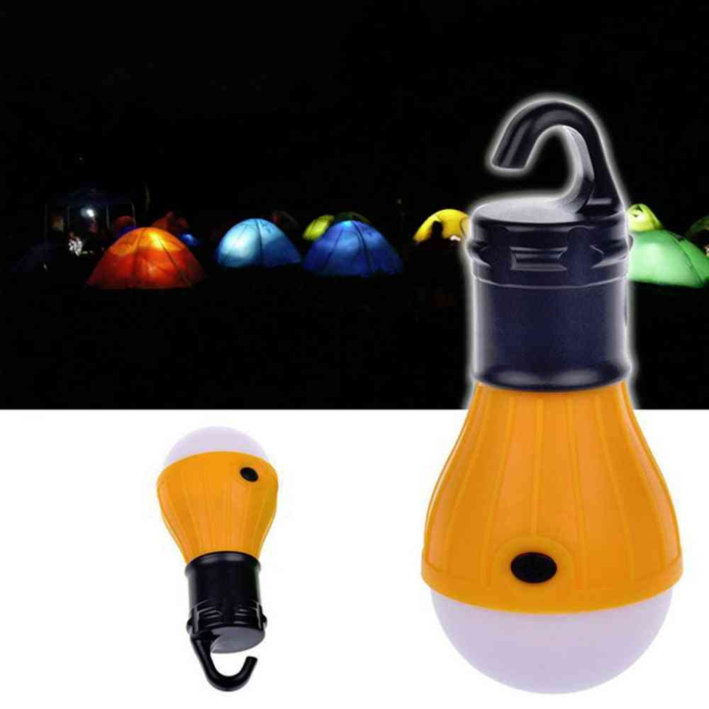 Mini Lantern, Light Bulb With Battery Powered, Tent Accessories