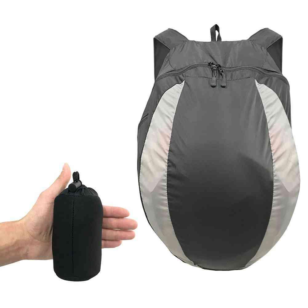 Riding Helmet Bag, Bicycle Backpack Splash-proof Helmet Bag