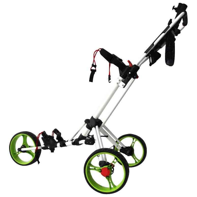 Professional Three Wheels Golf Trolley, Bag Cart, Outdoor Sports Tool