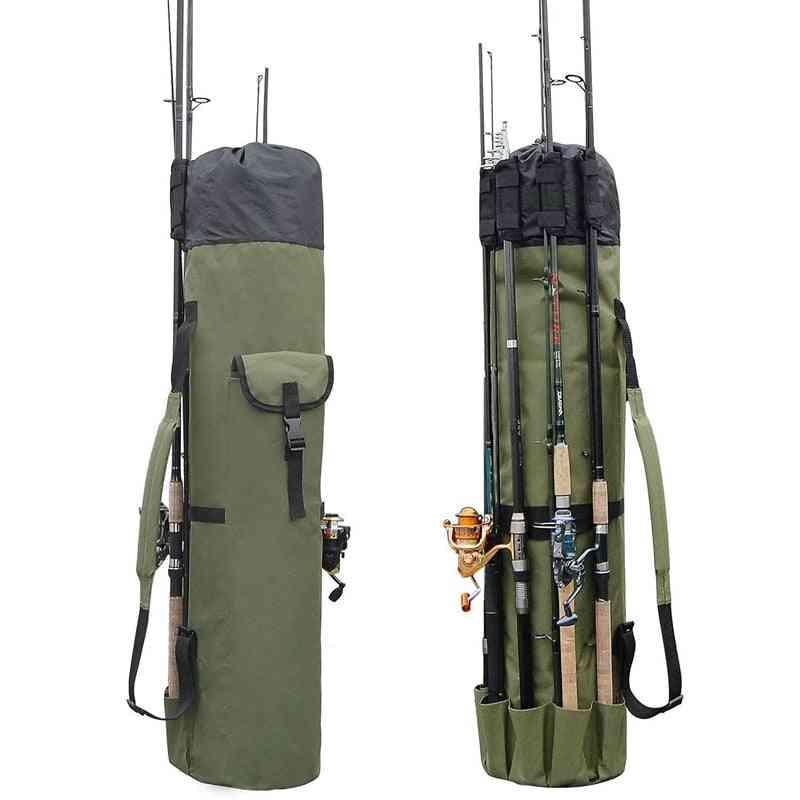 Fishing Bags Portable Multifunction Nylon Fishing Rod Storage Case
