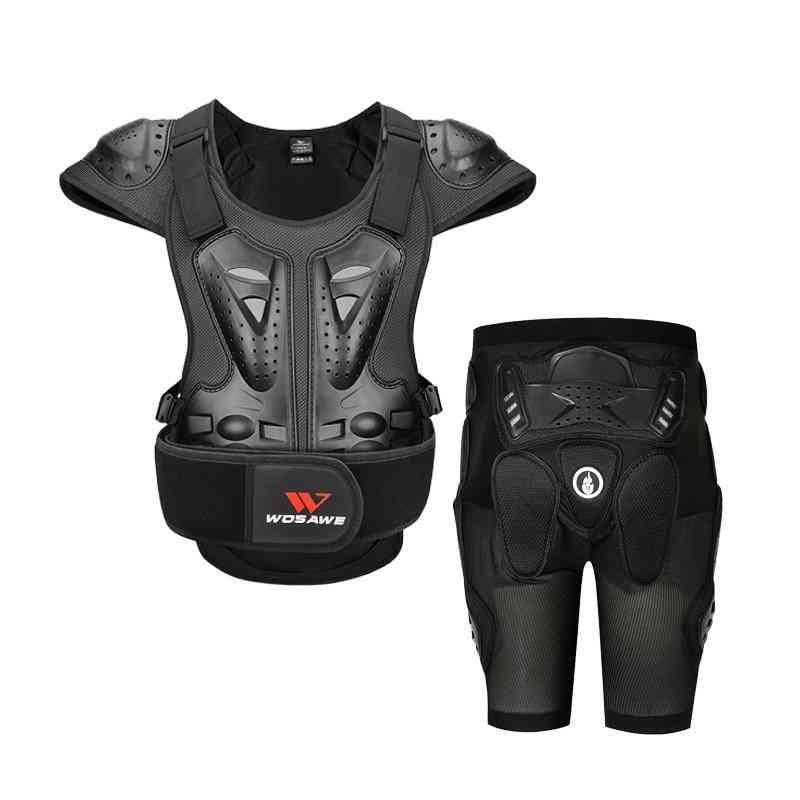 Wosawe Skiing Jacket And Hip Protective Gear Motorcycle Vest