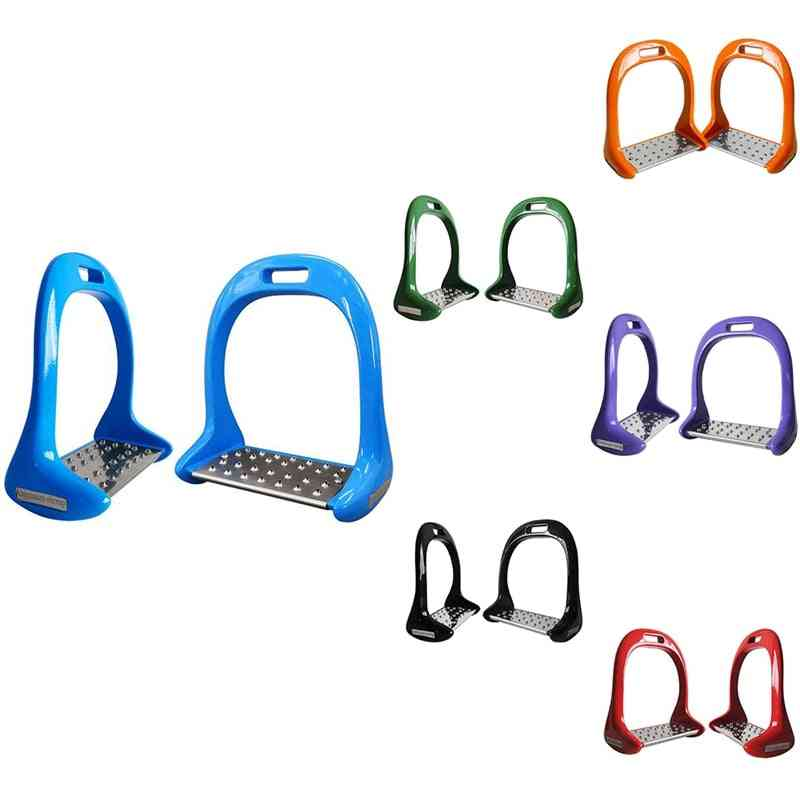 Equipment Thickened Anti Slip Treads Pedal Riding Safety Horse Stirrups