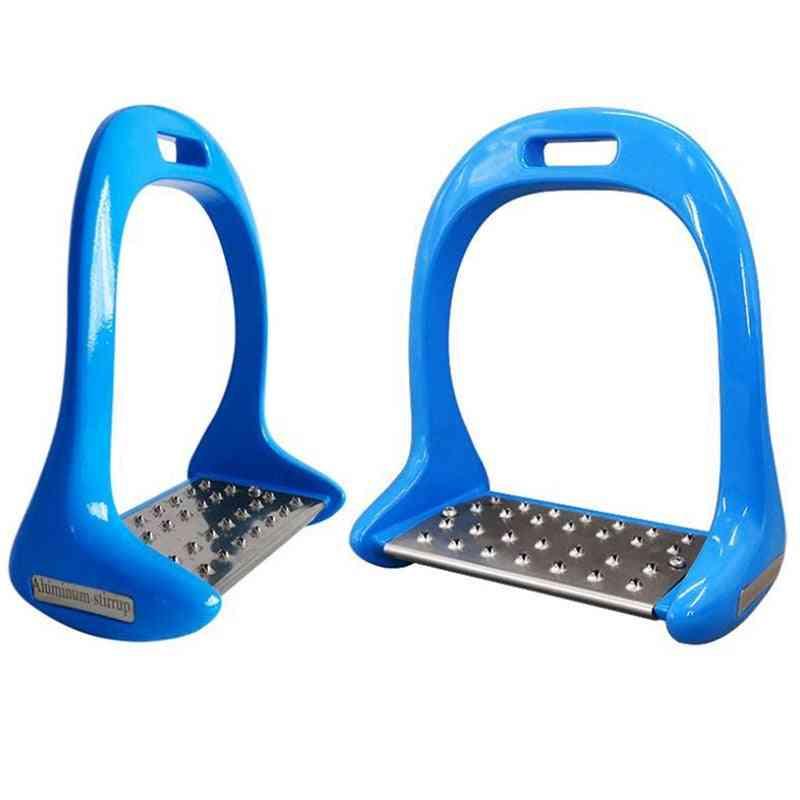Anti Slip Treads Pedal Sports Riding Equestrian Safety Horse Stirrups