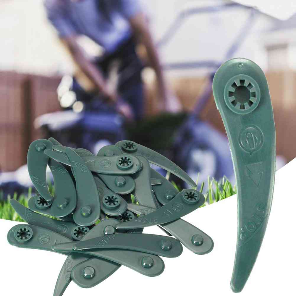 Grass Trimmer Replacement Plastic Blades