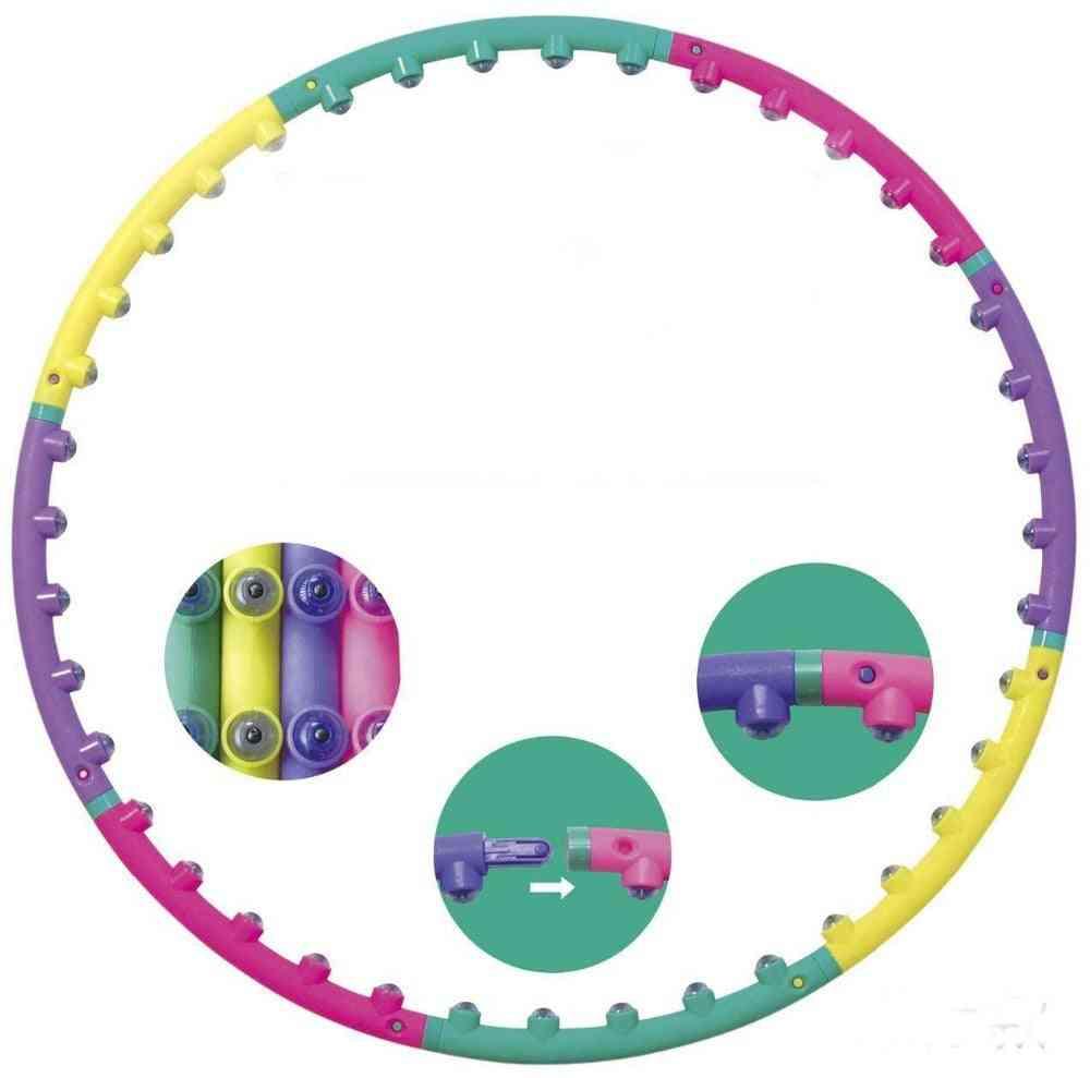 Magnet Fitness Massage Hoops For Children, Kid Bodybuilding For Women