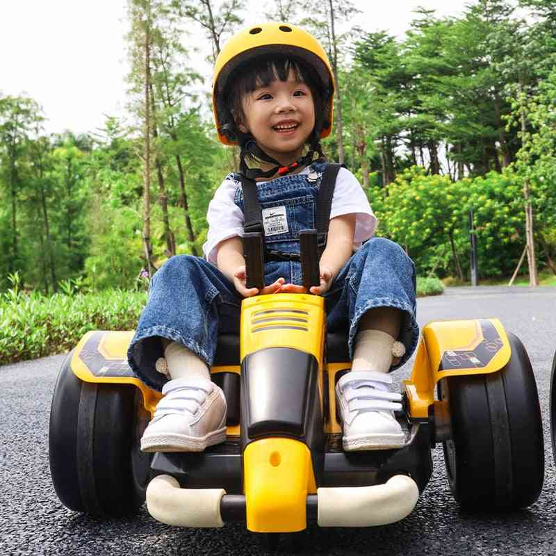 Children's Intelligent Electric Spinning Car Four-wheel Baby Toy