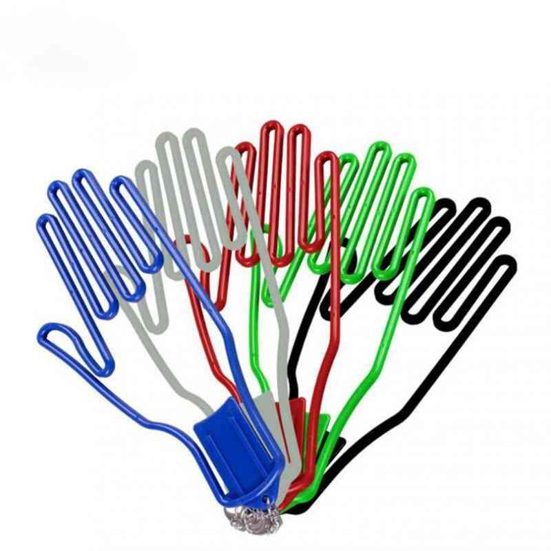 Golf Gloves Stretcher, Golfer Tool, Gear Plastic, Holder Rack Dryer, Hanger, With Strap