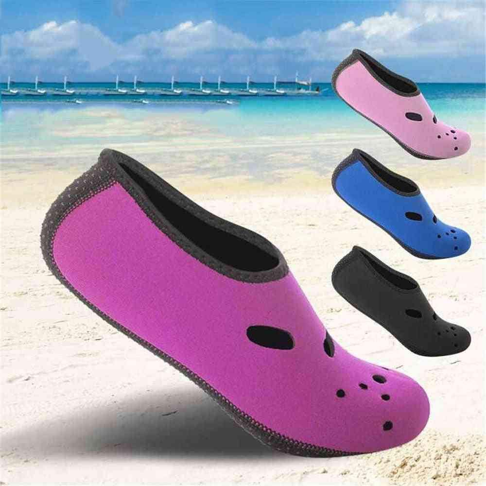 Beach Shoes, Quick Dry, Non-slip, Diving Socks, Swimming Pool Surfing Snorkeling Sock, Fins Flippers, Water Sport Shoe