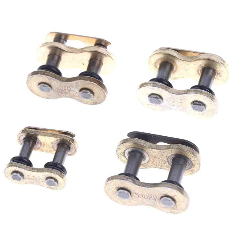 Heavy Chain Connecting Connector Master Joint Link With O-ring