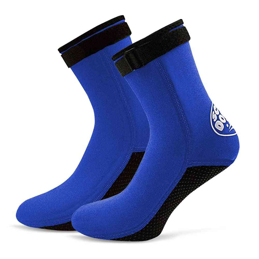 Neoprene Diving Socks Boots, Water Shoes, Beach Booties, Snorkeling Diving Surfing For Men, Women