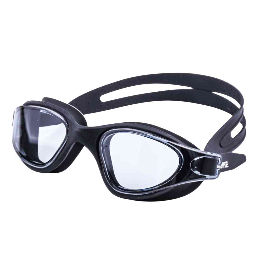 Swimming Glasses, Swim Goggles, Anti-fog, Uv Protection For Men, Women, Kids, Waterproof Silicone Diving Eyewear