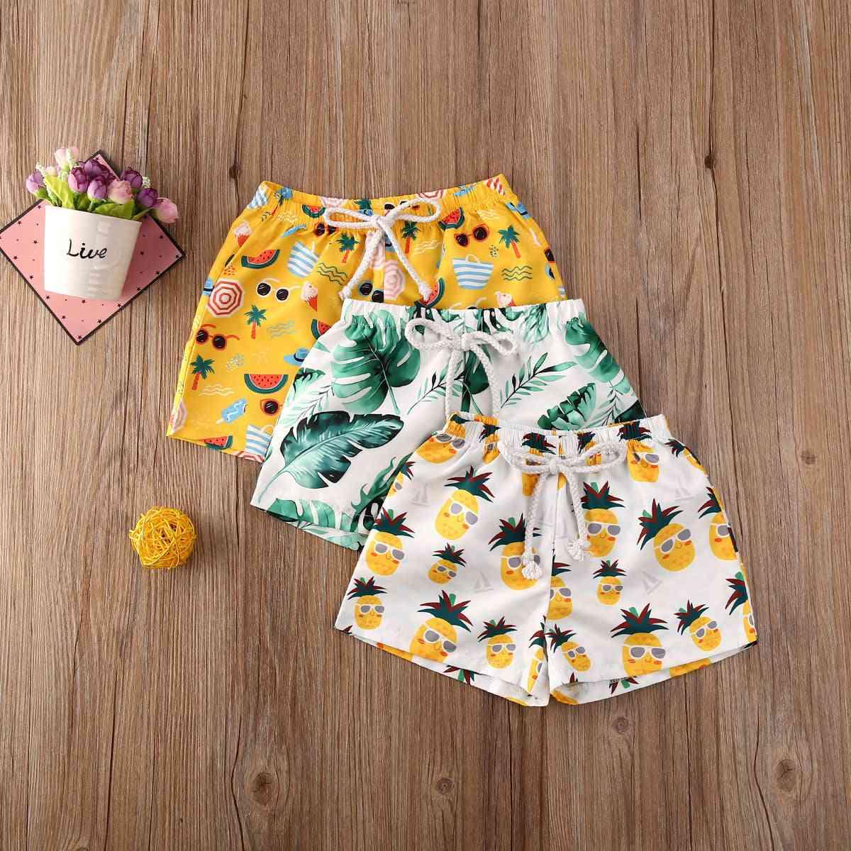 Summer Toddler Beach Swimwear Shorts