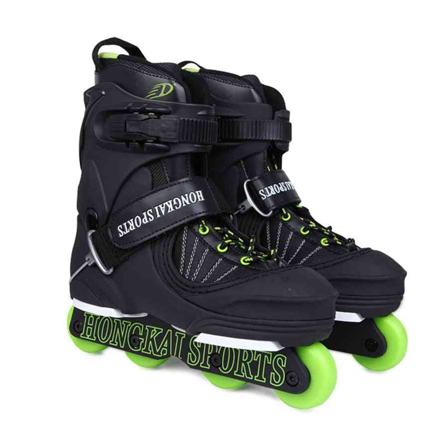 Aggressive Inline Skates Street Trick Roller, Skating Shoes, Extreme Patines, Good Men Athletic Shoe