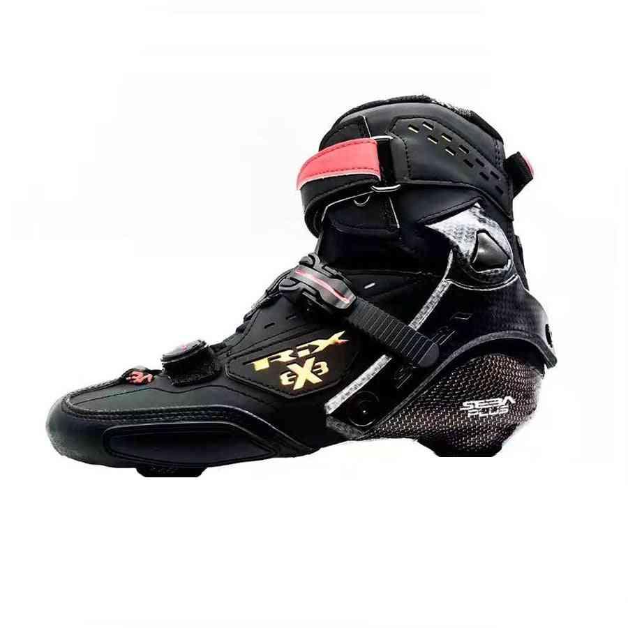 Boot Professional, Adult Inline Skates, Carbon Fiber Up Shoes, Roller Skating, Patines Liner