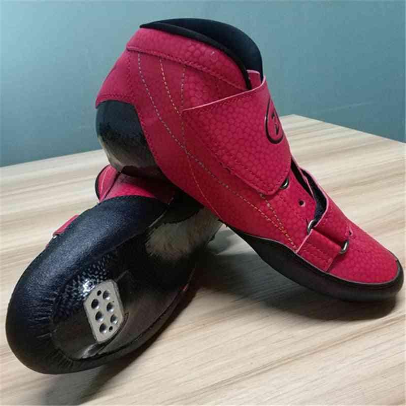Carbon Fibre Inline Speed Skate Shoes, Roller Skating