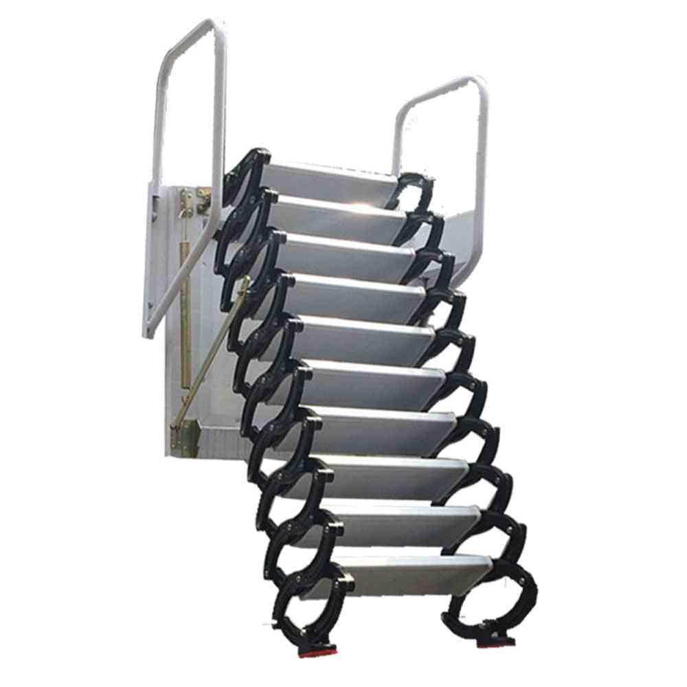 Height Extend Folding Stairs Hidden Ladder
