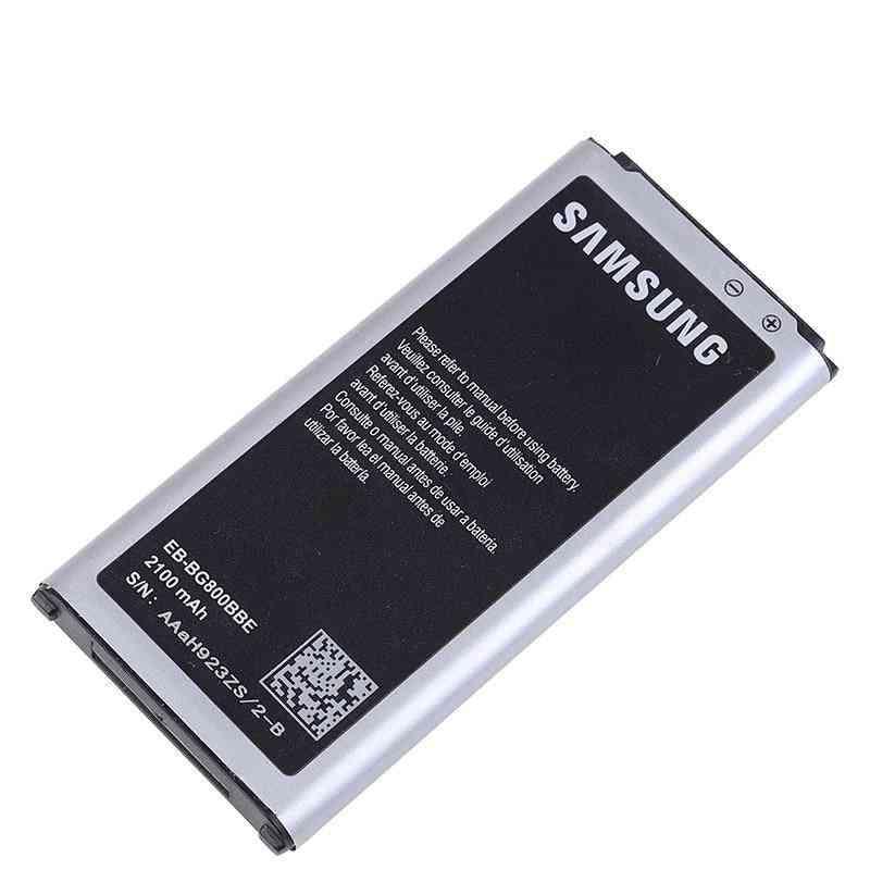 Original Battery For S5 Mini G800 G800f G800h G800a G800y G800r Eb-bg800bbe Eb-bg800cbe 2100mah With Nfc