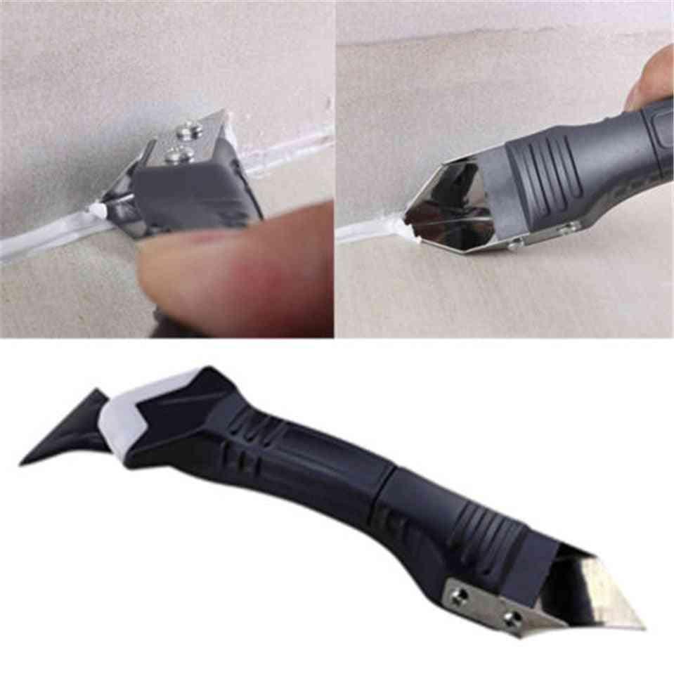 Silicone Finishing Tool Kit Of Silicone Spatulas Sealant Wiper / Scraper