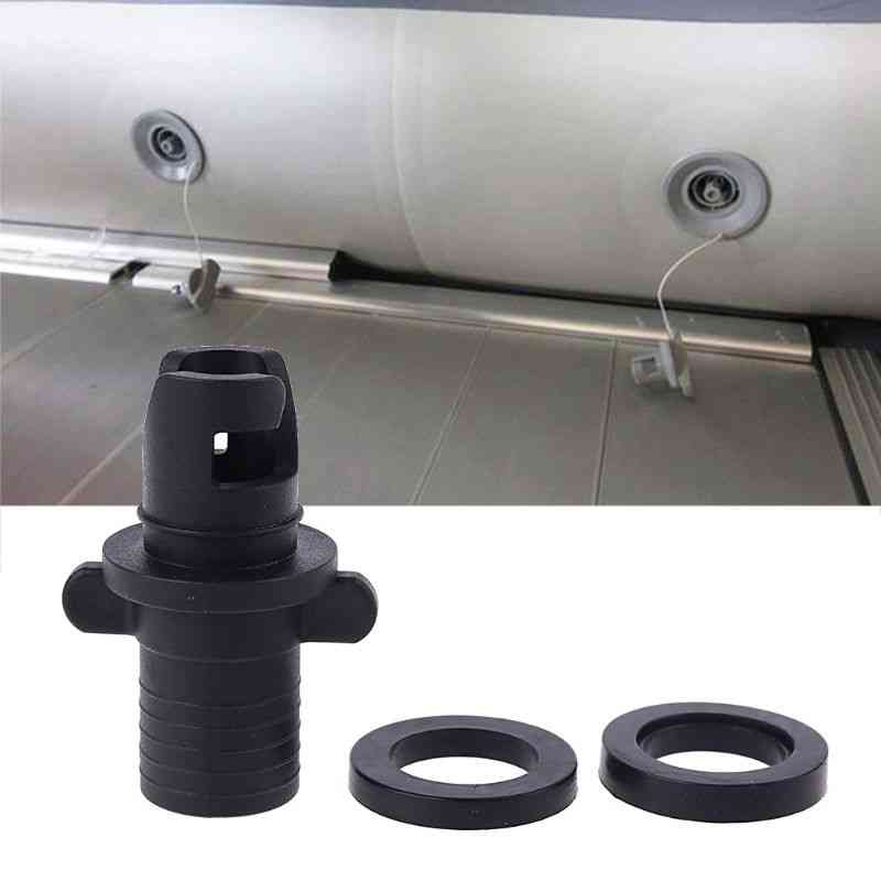 Foot Pump Kayak, Inflatable Air Valve, Hr Hose Adapter, Rowing Boats Accessories