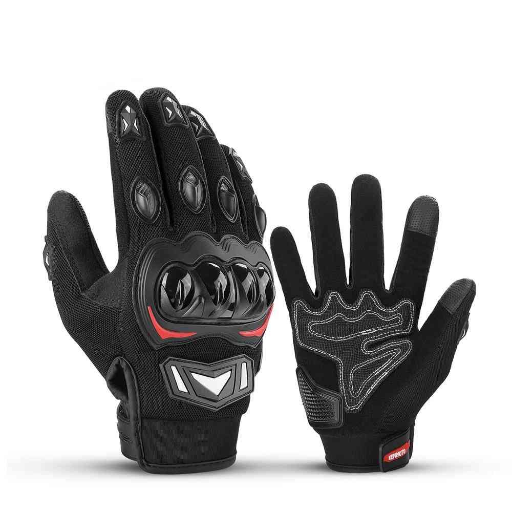 Summer Motorcycle Touch Screen Gloves