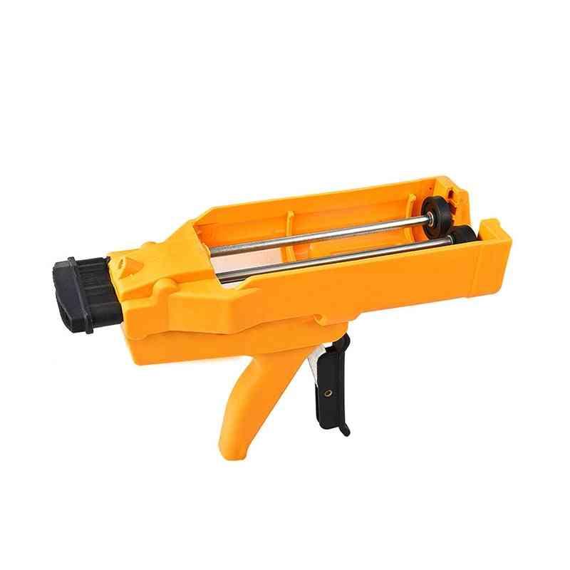 Double-tube  Glue Applicator & Filling Tool
