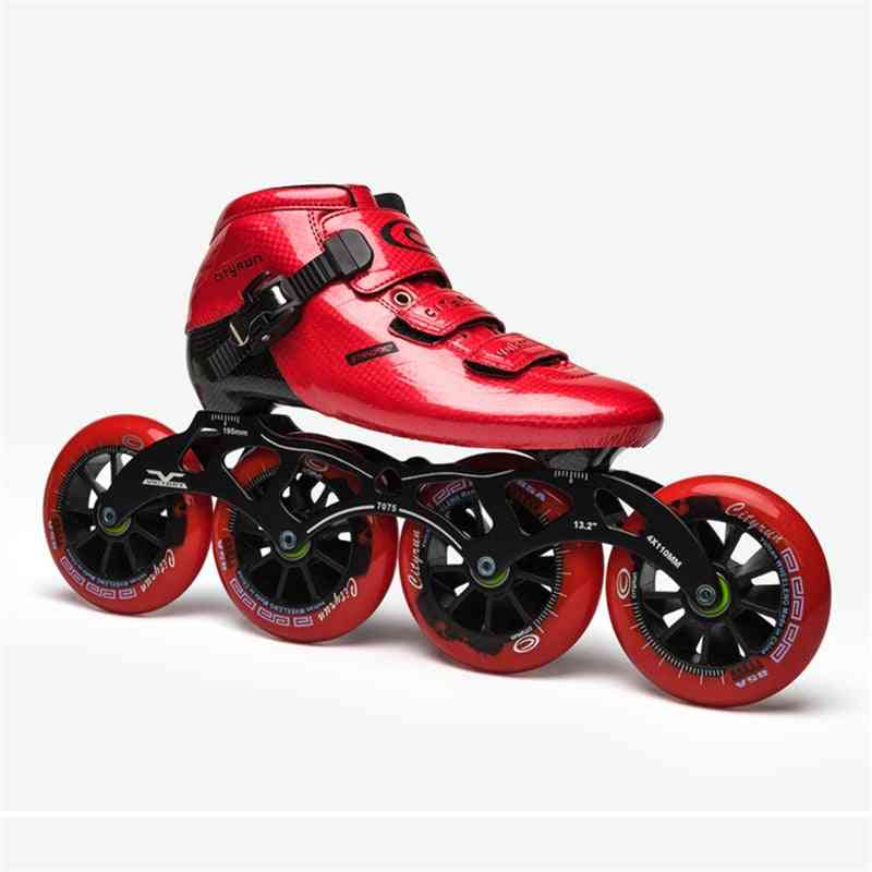 Professional Inline Speed Skates Shoes/adult