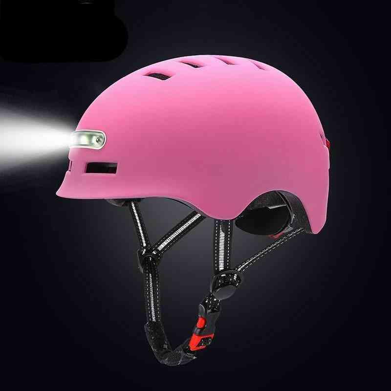 Illuminated Warning Light Safety Helmet