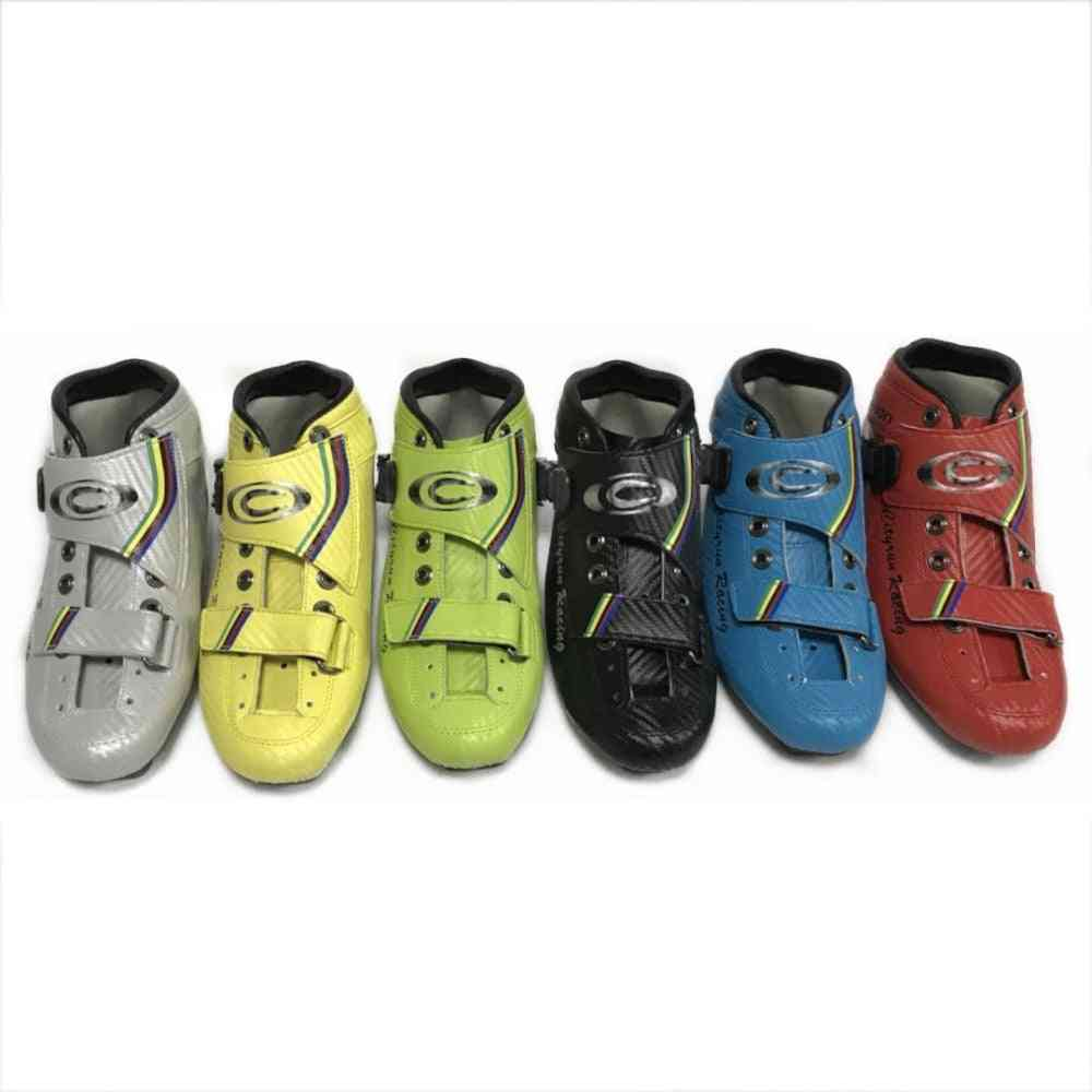 Professional Inline Speed Skate Boot Carbon Inline Speed Skating Shoes